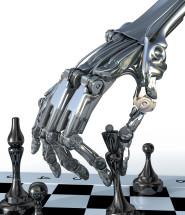 Very Smart Machine Playing Chess